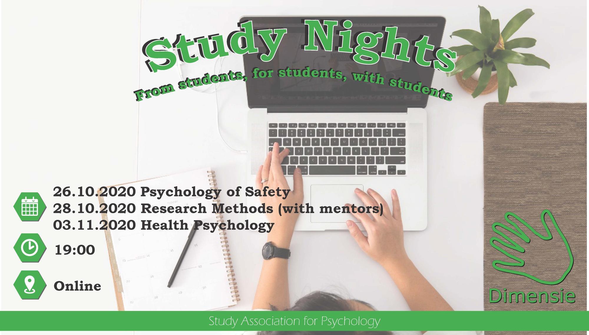 Study Night Psychology of Safety