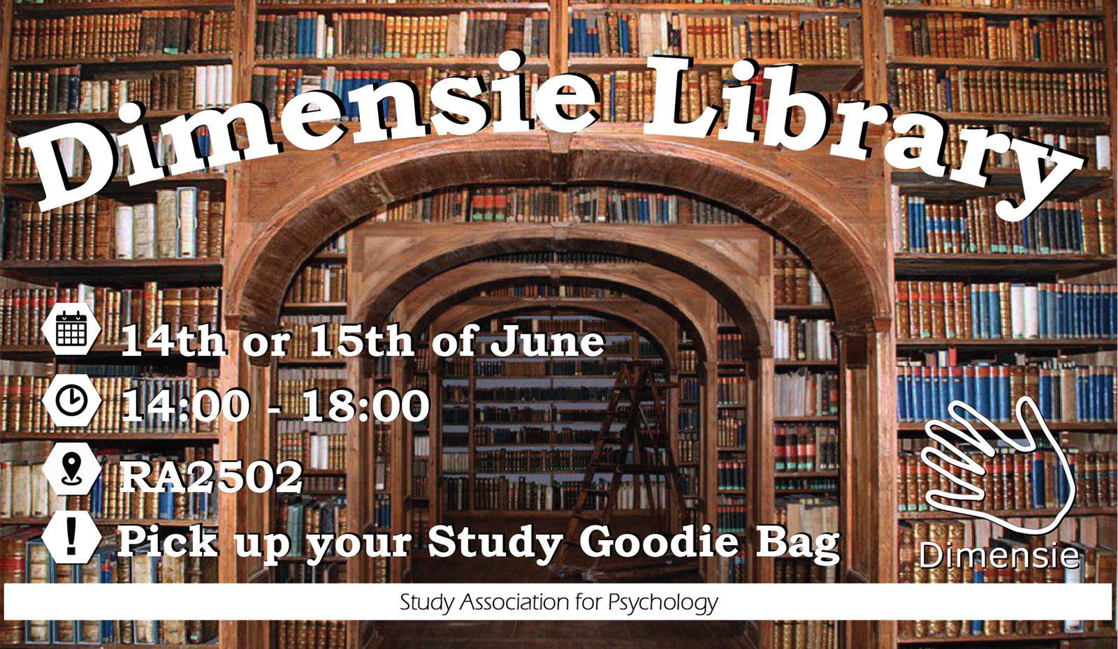 Dimensie Library: Study Afternoon