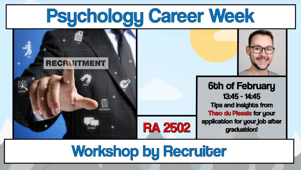 """Career Week: Workshop """"Recruitment"""""""