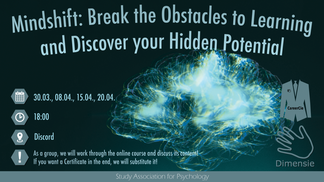 3/4 Mindshift: Break Through Obstacles to Learning and Discover Your Hidden Potential