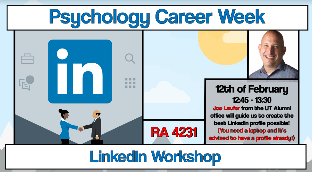 Career Week: LinkedIn Workshop