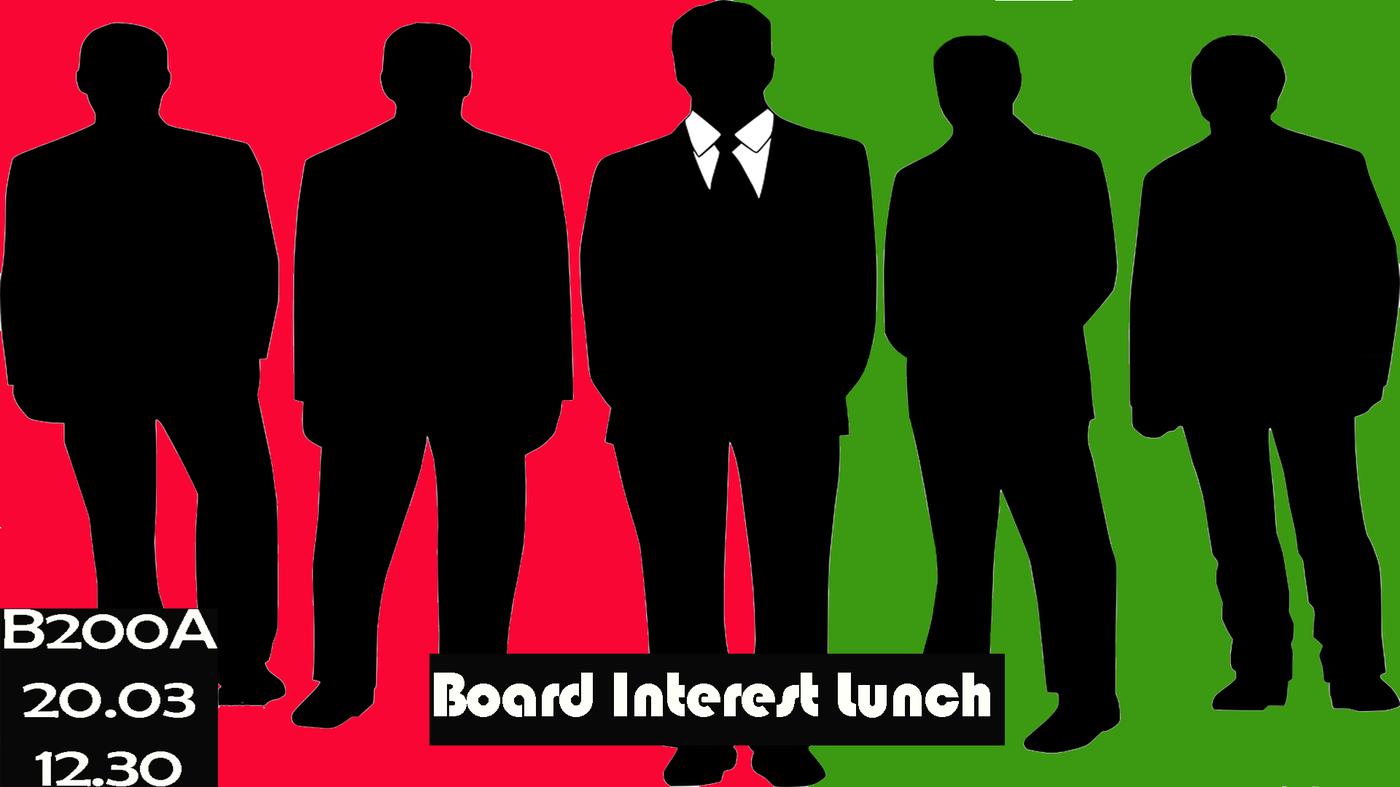 Board Interest Lunch