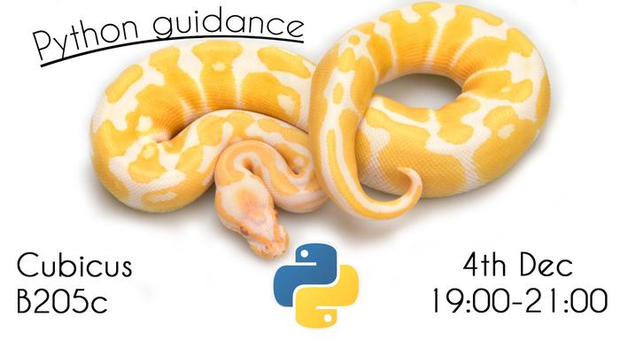 Python Guidance Evening