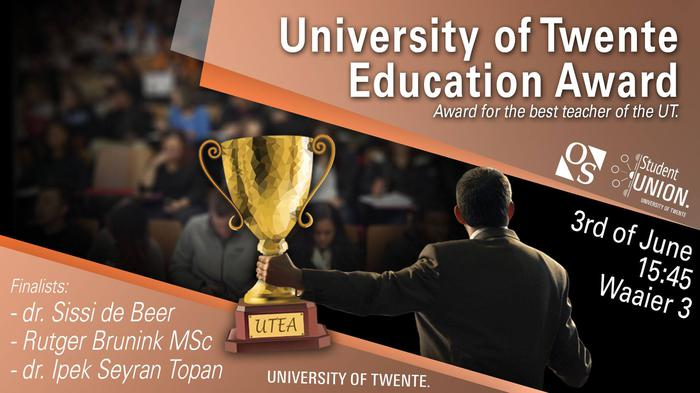 University of Twente Education Award