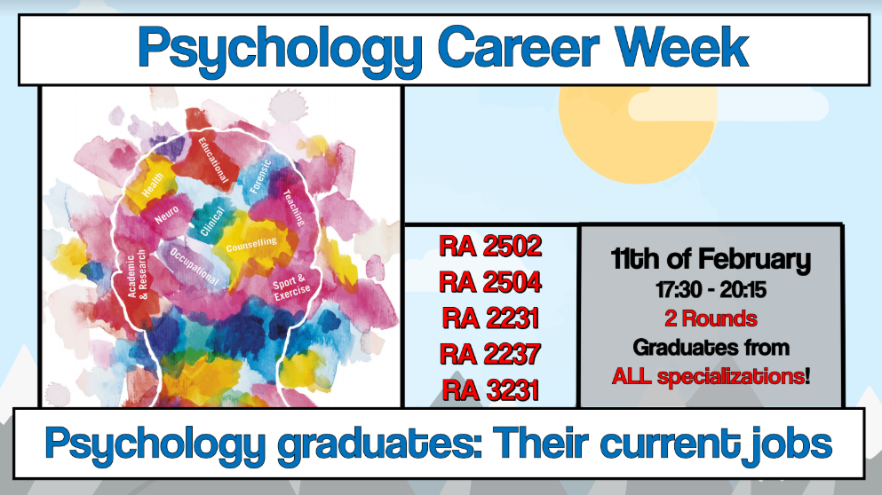 Career Week: Job Talks - for all specializations