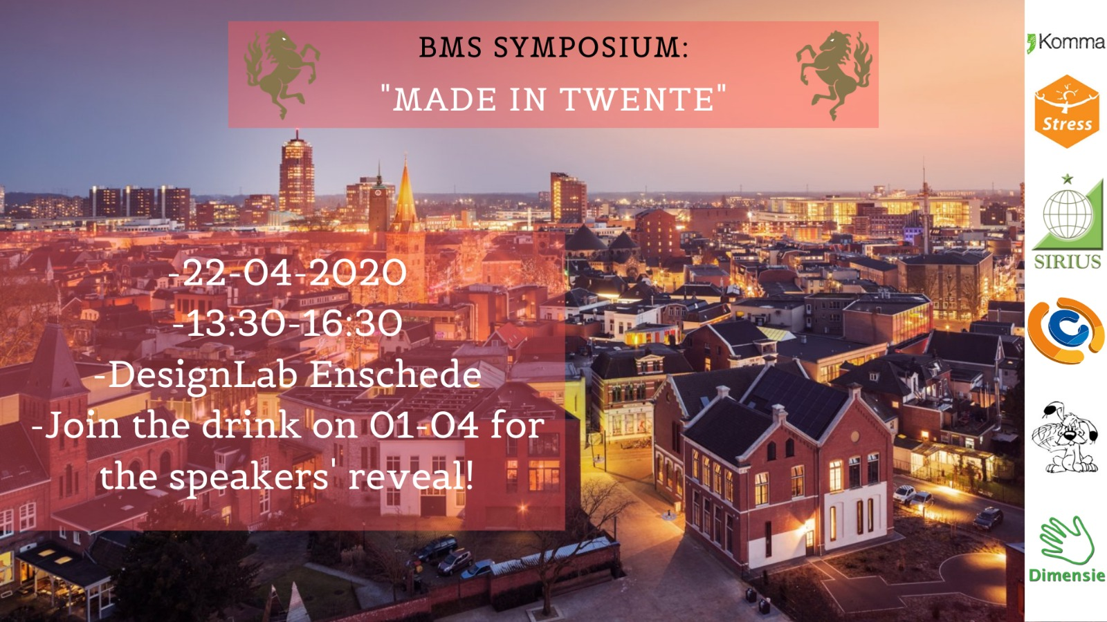 BMS Symposium: Made in Twente [POSTPONED]