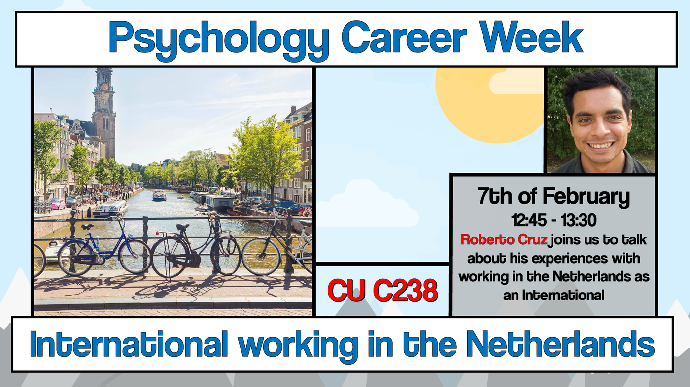 """Career Week: """"International studying and working in the Netherlands"""""""