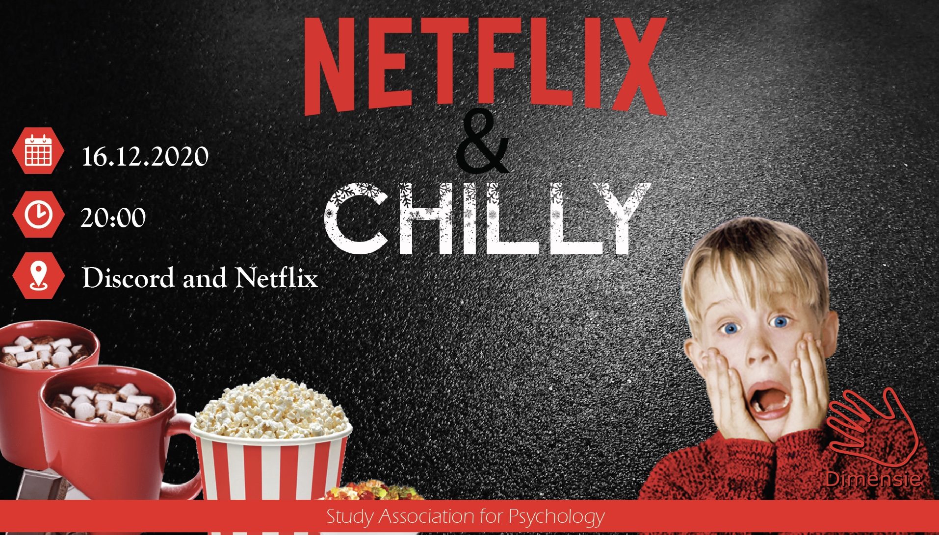 Netflix and Chilly - Netflix Christmas Party