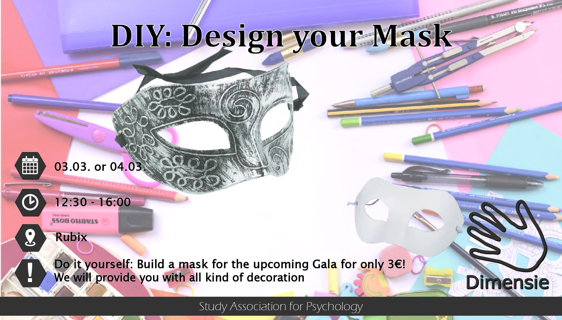 Design your Venetian Mask