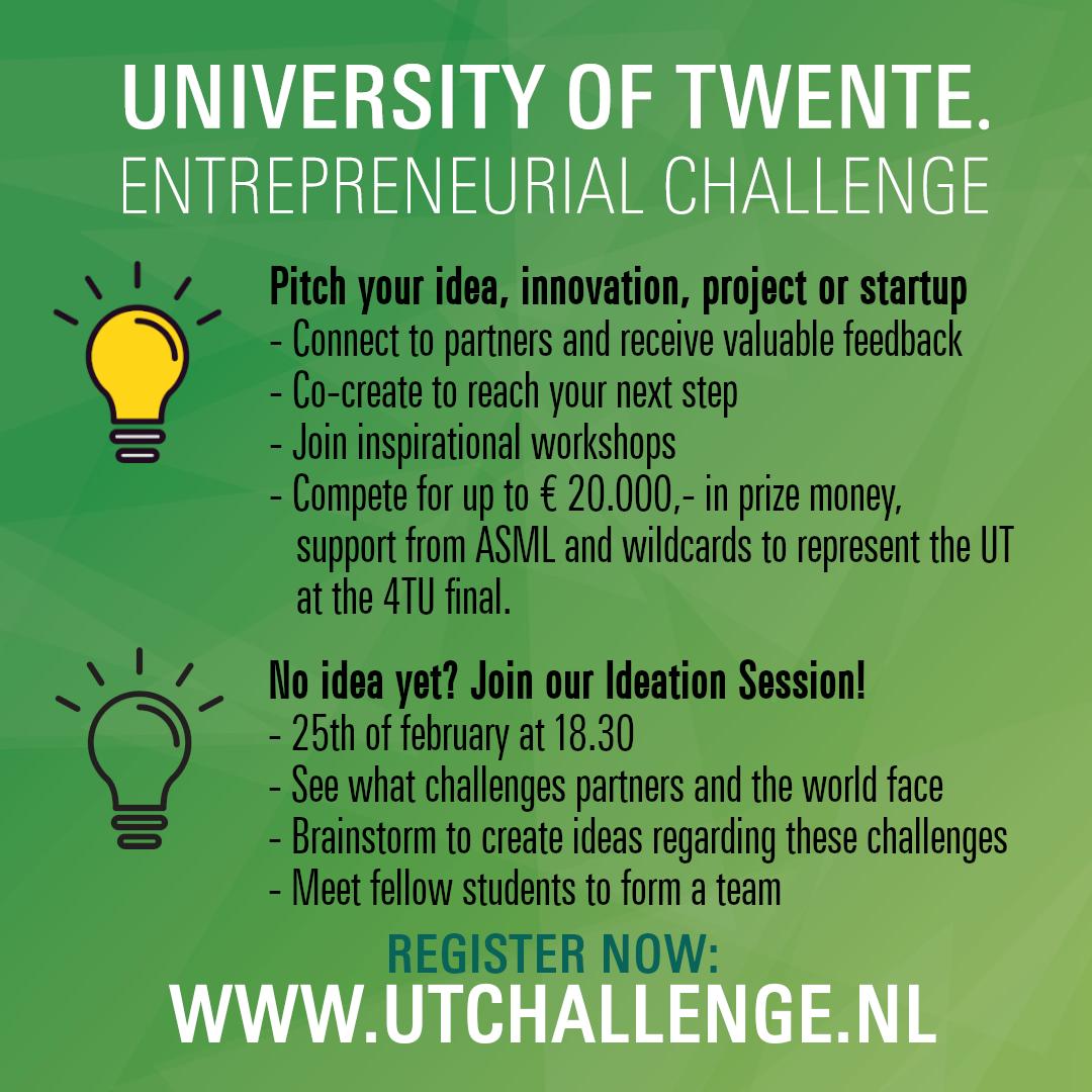 UT Entrepreneurial Challenge - UT Challenges