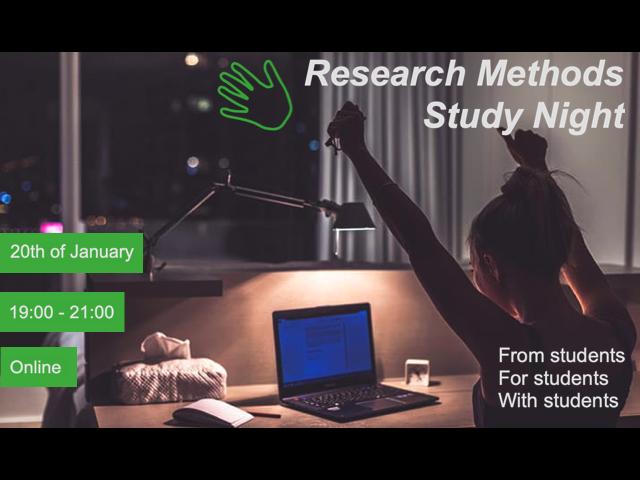 Research Methods Study Night