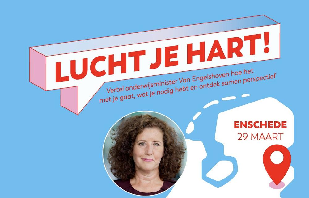 Get it off your chest with the Minister of Engelshoven