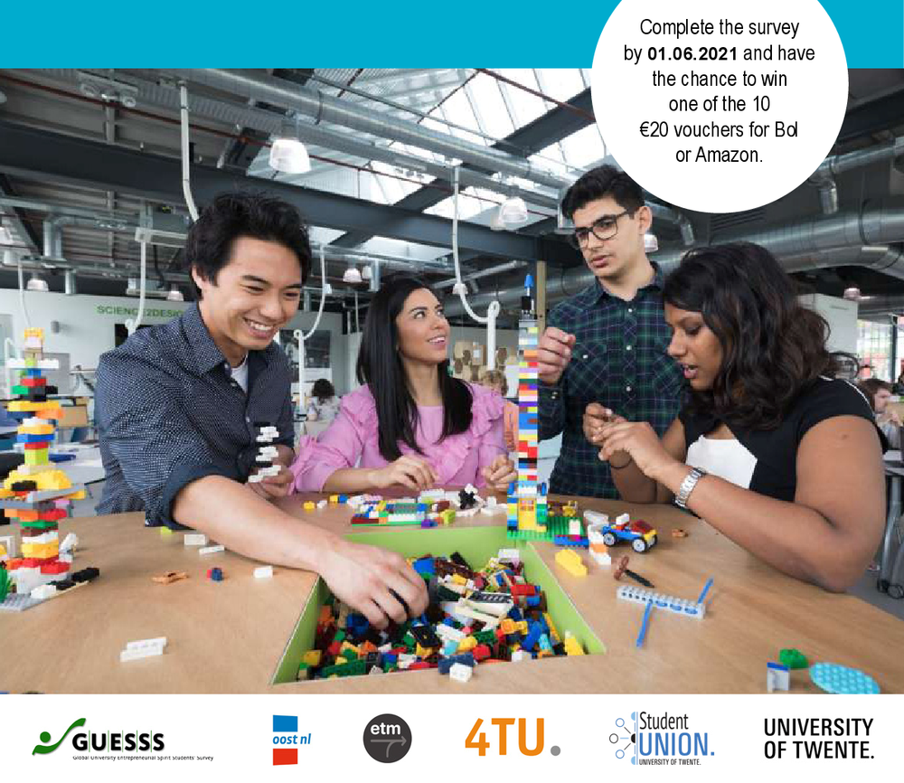Take Part in the Global Entrepreneurial Spirit Students GUESSS NL Student Survey!