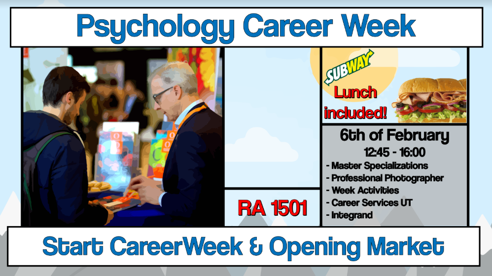 Career Week: Opening Market