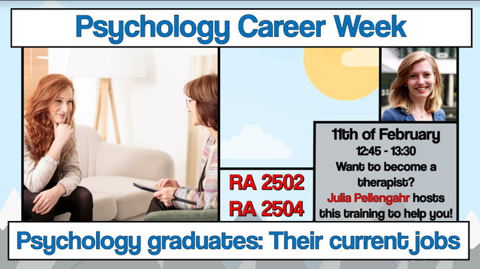 Career Week: Therapy Training Germany & Netherlands