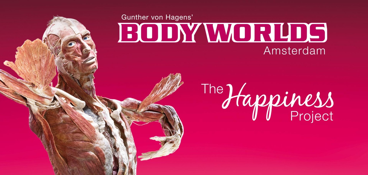 Trip to Body Worlds in Amsterdam