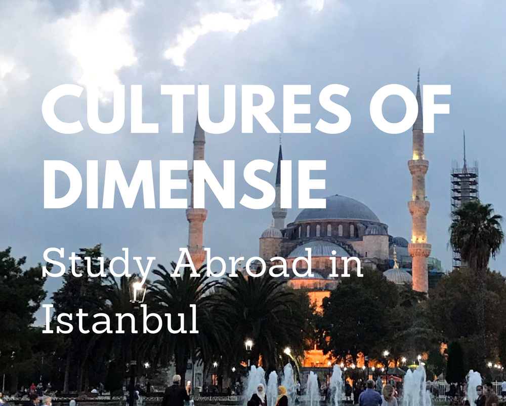 Cultures of Dimensie - A Study Abroad semester in Istanbul